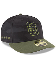 New Era San Diego Padres Memorial Day Low Profile 59FIFTY FITTED Cap