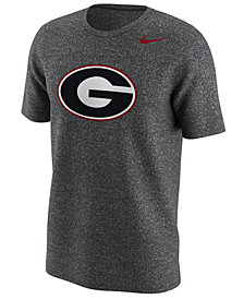 Nike Men's Georgia Bulldogs Marled Primary Logo T-Shirt