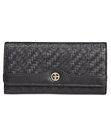 Giani Bernini Softy Weave Receipt Wallet, Created for Macy's