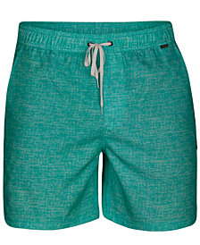 "Hurley Men's Heathered 17"" Board Shorts"