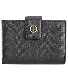 Giani Bernini Softy Weave Index Wallet, Created for Macy's