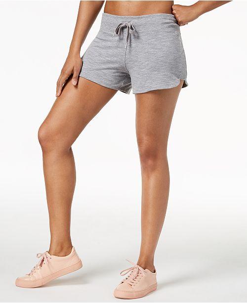 59d8b196f5be9 Calvin Klein Curved-Hem Shorts   Reviews - Shorts - Women - Macy s