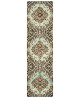 "CLOSEOUT!  Archive Thompson 2' 7"" x 10' 0"" Runner"