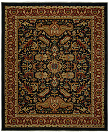 "CLOSEOUT! KM Home Vintage Serapi Beige/Rust 9' x 11' 6"" Area Rug"