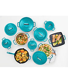 Martha Stewart Collection Cast Iron Cookware, Created for Macy's
