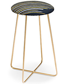 Deny Designs Lara Kulpa Stripe Counter Stool