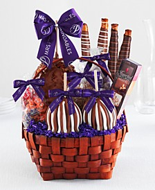Grand Caramel Apple Gift Basket