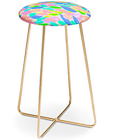 Deny Designs Rebecca Allen Flourish Counter Stool