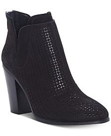 Vince Camuto Farrier Perforated Booties