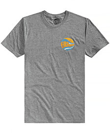C&C California Men's Double Daze Tri-Blend Graphic-Print T-Shirt