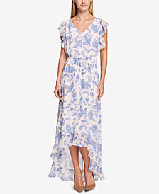 Tommy Hilfiger Floral Print Maxi Dress