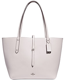 COACH Market Tote in Polished Pebble Leather