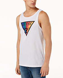 GUESS Men's Logo Tank