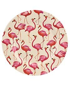 Sara Miller Flamingo Melamine 11'' Dinner Plates, Set of 4