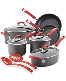 Rachael Ray Hard-Anodized Non-Stick 12-Pc. Cookware Set