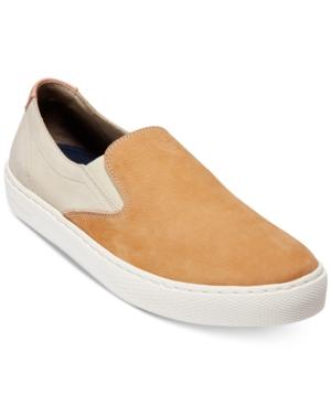 Cole Haan Men's Grandpro Color-Block Nubuck Leather Slip-On Sneakers tBLvK