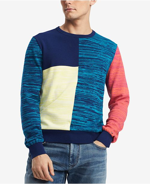 4343c8613a643 Tommy Hilfiger Men S Colombo Colorblocked Sweater Created For