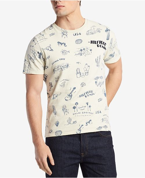 009f4622f200 ... Tommy Hilfiger Men s Graphic-Print T-Shirt