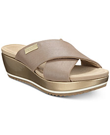 Anne Klein Sport Felisha Wedge Slip-On Sandals