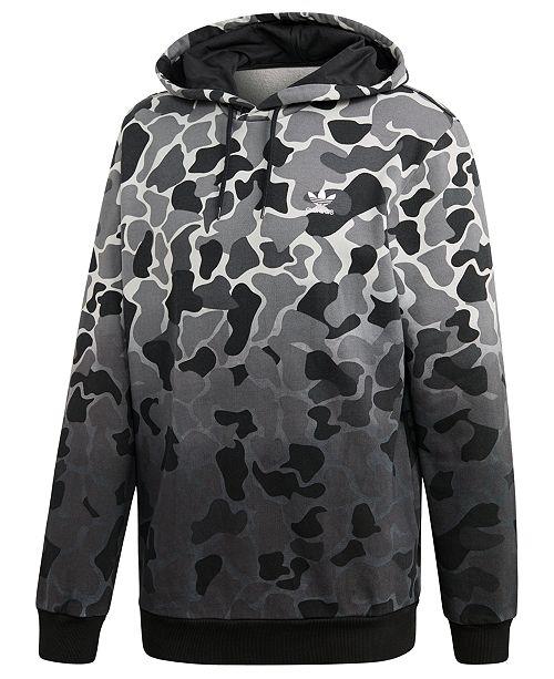 cfb576f2c ... adidas Men's Originals Camo-Print Dip-Dyed Fleece Hoodie ...