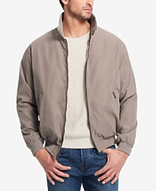 Men's Big & Tall Lightweight Full-Zip Bomber Jacket