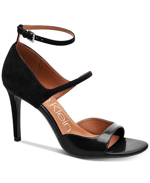 Calvin Klein Women's Nadeen Strappy Sandal zPaAGoak
