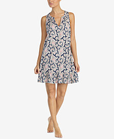 Lauren Ralph Lauren Cotton Classic Knits Printed Nightgown