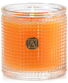 Aromatique Valencia Orange Textured Candle