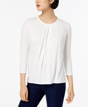 MULTIC PLEATED TOP