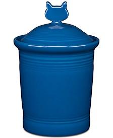 Lapis Cat Treat Jar