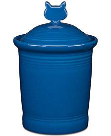 Fiesta Lapis Cat Treat Jar