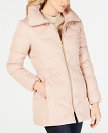 Cole Haan Signature Hooded Down Puffer Coat