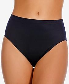 High-Waist Tummy Control Bikini Bottoms