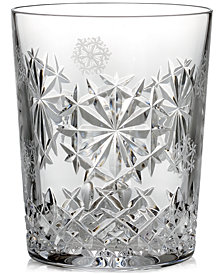 Waterford 2018 Snowflake Wishes Happiness Double Old-Fashioned Glass