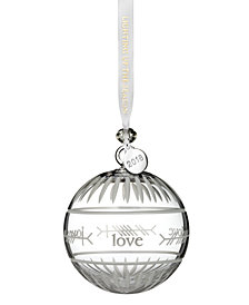 "Waterford Ogham ""Love"" Ball Ornament"