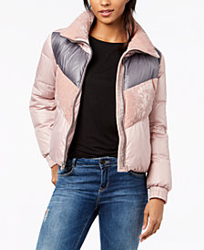 Marc New York Bedford Colorblocked Puffer Coat