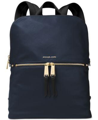 437b95be85a06 Michael Kors Polly Slim Nylon Backpack   Reviews - Handbags   Accessories -  Macy s