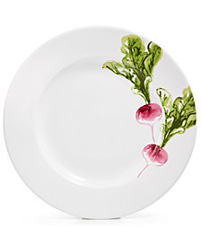 Martha Stewart Collection Farmhouse Radish Salad Plate