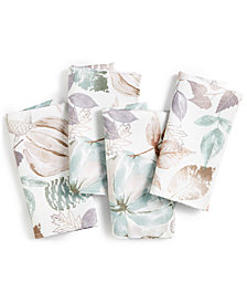 Elrene Gourd Gathering Set of 4 Napkins