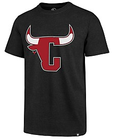 '47 Brand Men's Chicago Bulls Mashup Logo Club T-Shirt