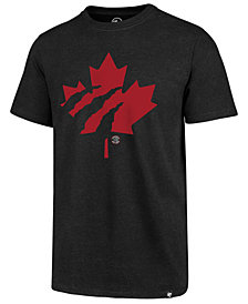 '47 Brand Men's Toronto Raptors Mashup Logo Club T-Shirt