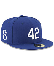 New Era Brooklyn Dodgers Custom Jackie Robinson 59FIFTY Fitted Cap