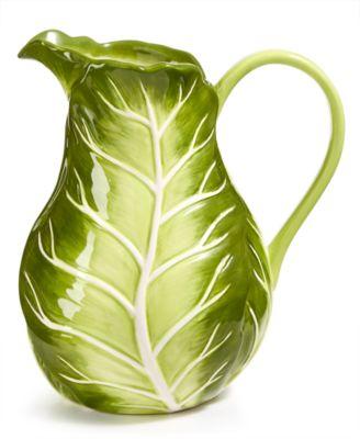 CLOSEOUT! Farmhouse Cabbage Pitcher