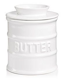 Martha Stewart Collection Butter Keeper, Created for Macy's