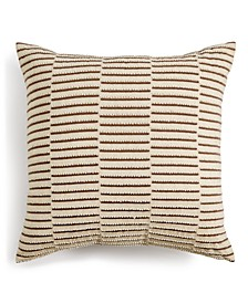 "Honeycomb 18"" x 18"" Decorative Pillow, Created for Macy's"
