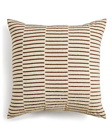 "Hotel Collection Honeycomb 18"" x 18"" Decorative Pillow, Created for Macy's"