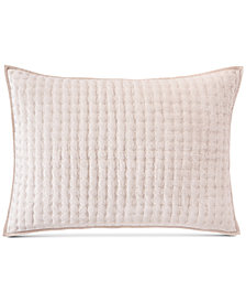 Hotel Collection Velvet Quilted Standard Sham