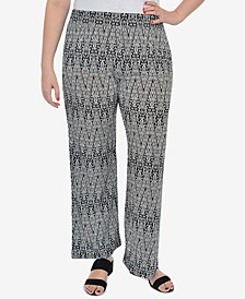 Plus Size Printed Lounge Pants