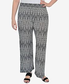 Plus Size Printed Lounge Pants