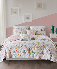 Urban Habitat Kids Desert Bloom 4-Pc. Twin/Twin XL Cotton Coverlet Set